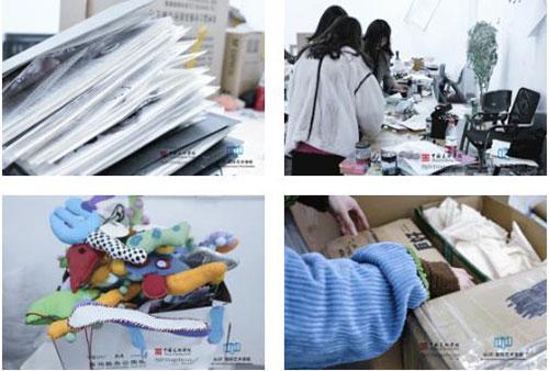 国美附中AIP国际艺术高中学期结束学生在打包个人物品