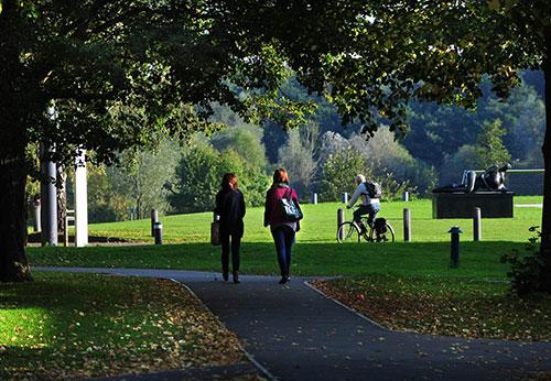 英国法尔茅斯大学校园环境